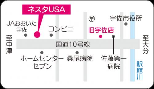 新宇佐店地図